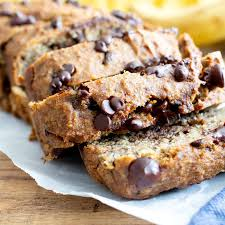 Organic Coconut Chocolate Chip Banana Bread