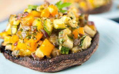 Stuffed Portobello Mushrooms – 'Meaty' and Delicious!