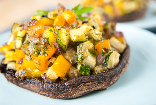 Stuffed Portobello Mushrooms – 'Meaty' and Delicious!