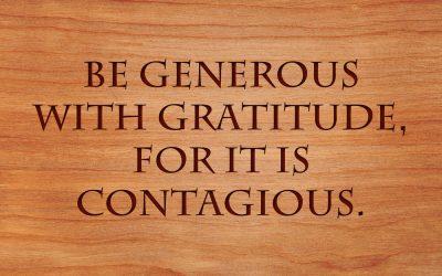 The Health Benefits of a Gratitude Practice